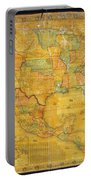 1854 Jacob Monk Wall Map Of North America Portable Battery Charger