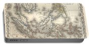 1855 Colton Map Of The East Indies Singapore Thailand Borneo Malaysia Portable Battery Charger