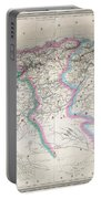1857 Dufour Map Of Algeria Portable Battery Charger