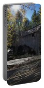 1868 Cable Mill At Cades Cove Tennessee Portable Battery Charger
