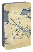 1879 Quinby Aerial Ship Patent Minimal - Vintage Portable Battery Charger