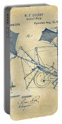 1879 Quinby Aerial Ship Patent - Vintage Portable Battery Charger by Nikki Marie Smith