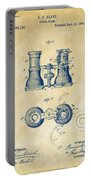 1882 Opera Glass Patent Artwork - Vintage Portable Battery Charger