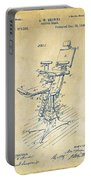 1896 Dental Chair Patent Vintage Portable Battery Charger