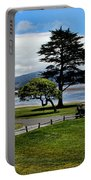 18th At Pebble Beach Panorama Portable Battery Charger