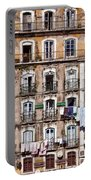 18th Century Building In Lisbon Portable Battery Charger