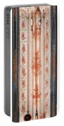 18th Century Thermometer-barometer Portable Battery Charger