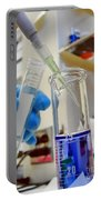Scientific Experiment In Science Research Lab Portable Battery Charger