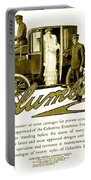 1903 - Columbia Motor Carriage Advertisement Portable Battery Charger