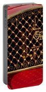 1904 Franklin Open Four Seater Grille Emblem Portable Battery Charger by Jill Reger