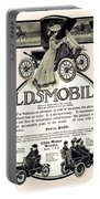 1904 - Oldsmobile Automobile Advertisement Portable Battery Charger