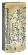 1909 Flute Patent - Vintage Portable Battery Charger