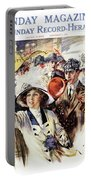 1910s 1912 Cover Sunday Magazine Portable Battery Charger