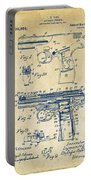 1911 Automatic Firearm Patent Artwork - Vintage Portable Battery Charger