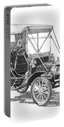 1911 Ford Model T Tin Lizzie Portable Battery Charger by Jack Pumphrey