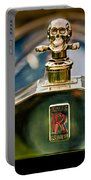 1912 Rolls-royce Silver Ghost Cann Roadster Skull Hood Ornament Portable Battery Charger