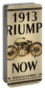 1913 Triumph Now Portable Battery Charger