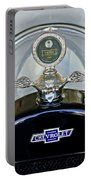 1915 Chevrolet Touring Hood Ornament Portable Battery Charger by Jill Reger