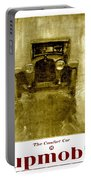 1918 - Hupmobile Automobile Advertisement - Color Portable Battery Charger