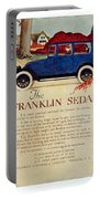 1919 - Franklin Sedan Advertisement - Color Portable Battery Charger