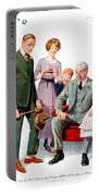 1920 - Life Magazine Cover - Engagement - J F Kernan - January 29 - Color Portable Battery Charger