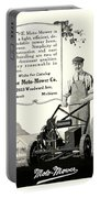 1921 - Moto Mower Lawnmower Advertisement Portable Battery Charger