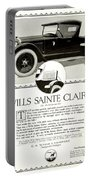 1921 - Wills Sainte Claire Automobile Roadster Advertisement Portable Battery Charger