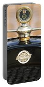 1922 Studebaker Touring Hood Ornament Portable Battery Charger by Jill Reger