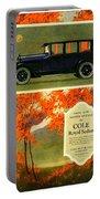 1923 - Cole Royal Sedan - Advertisement - Color Portable Battery Charger