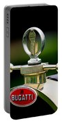 1923 Bugatti Type 23 Brescia Lavocat Et Marsaud Hood Ornament Portable Battery Charger