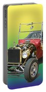 1923  Ford T Bucket  Portable Battery Charger by Jack Pumphrey