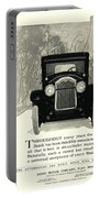 1924 - Buick Six Advertisement Portable Battery Charger