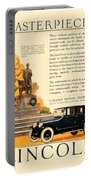 1924 - Lincoln Automobile - Color Portable Battery Charger