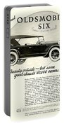 1924 - Oldsmobile Six Automobile Advertisement Portable Battery Charger