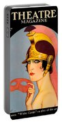 1924 - Theatre Magazine Cover - Color Portable Battery Charger