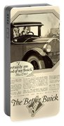 1925 - Buick Automobile Advertisement Portable Battery Charger