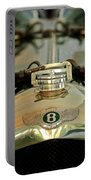 1925 Bentley 3-liter 100mph Supersports Brooklands Two-seater Radiator Cap Portable Battery Charger by Jill Reger