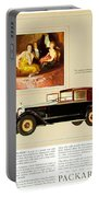 1926 - Packard Automobile Advertisement - Color Portable Battery Charger