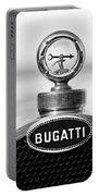 1928 Bugatti Type 44 Cabriolet Hood Ornament - Emblem Portable Battery Charger