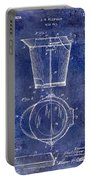1928 Milk Pail Patent Drawing Blue Portable Battery Charger