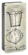 1928 Milk Pail Patent Drawing Portable Battery Charger