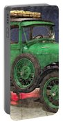 1929 Ford Model A By Liane Wright Portable Battery Charger
