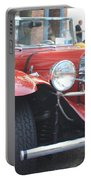 1929 Mercedes Benz Front And Side View Portable Battery Charger