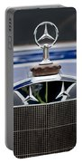 1929 Mercedes Benz S Erdmann And Rossi Cabiolet Hood Ornament Portable Battery Charger