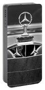 1929 Mercedes-benz S Erdmann - Rossi Cabiolet Hood Ornament Portable Battery Charger