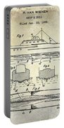 1930 Ship's Hull Patent Drawing Portable Battery Charger