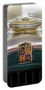 1930 Desoto K Hood Ornament Emblem Portable Battery Charger