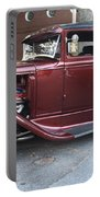 1930 Ford Two Door Sedan Side View Portable Battery Charger