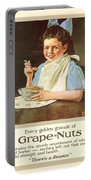 1930 - Post Grape Nuts Cereal Advertisement - Norman Rockwell - Color Portable Battery Charger