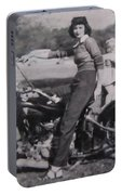 1930's Indian Motorcycle Mama Portable Battery Charger